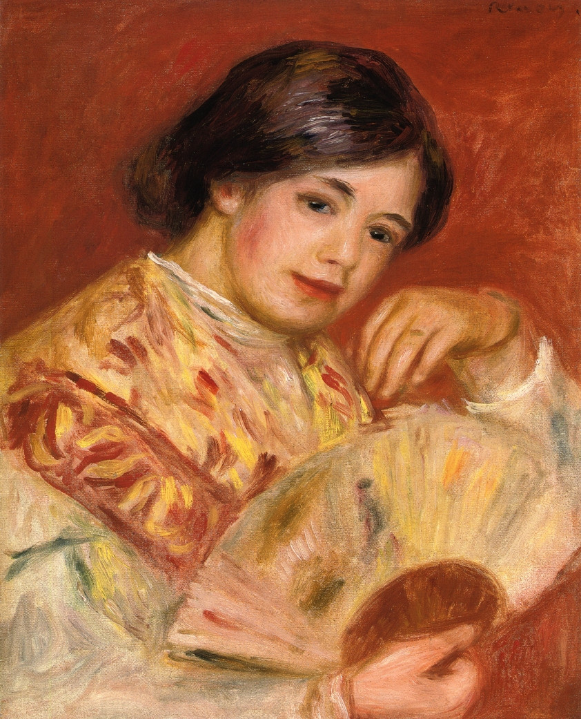 Woman with a Fan, 1906